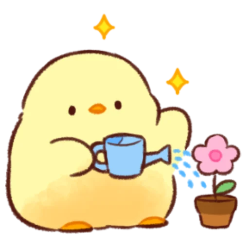 soft and cute chick 11 - Sticker 10