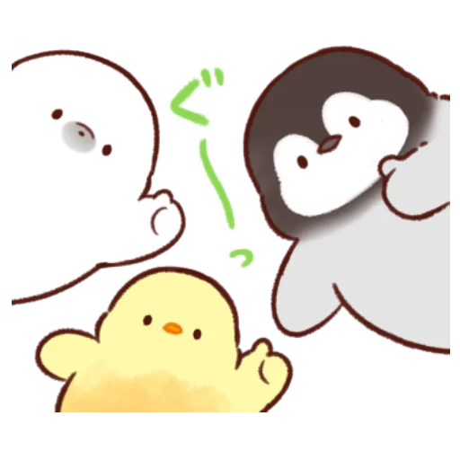 soft and cute chick 11 - Sticker 29