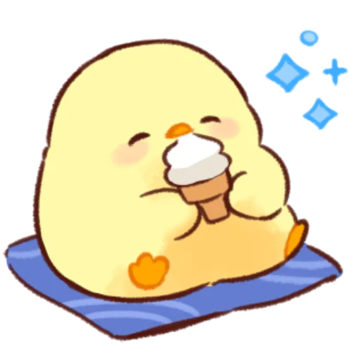 soft and cute chick 11 - Sticker 13