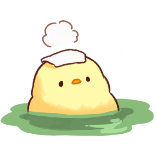 soft and cute chick 11 - Sticker 5