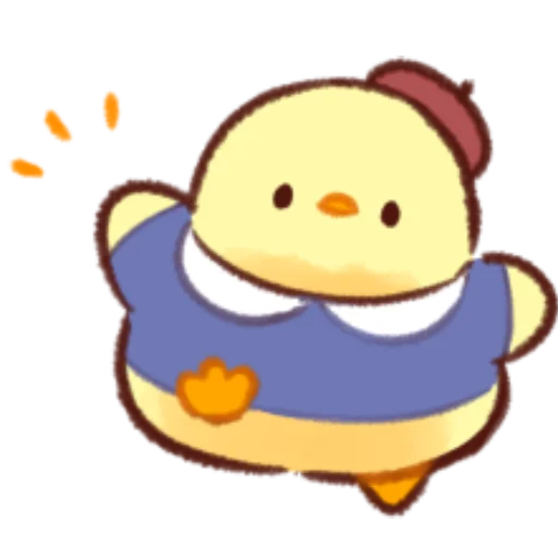soft and cute chick 11 - Sticker 19