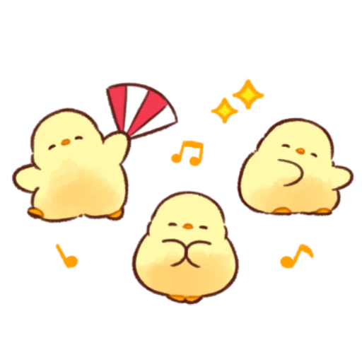 soft and cute chick 11 - Sticker 26