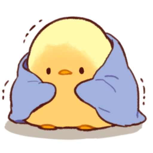 soft and cute chick 11 - Sticker 2