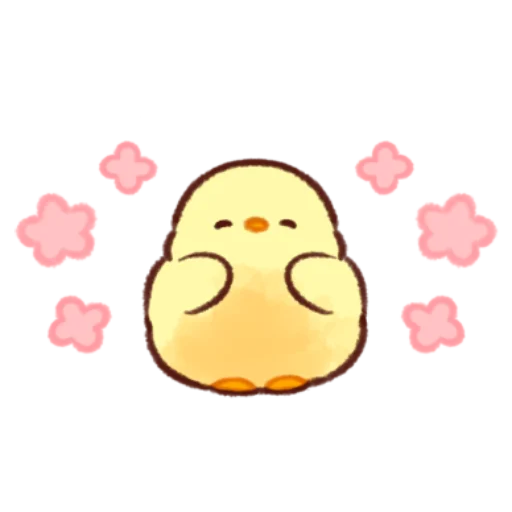 soft and cute chick 11 - Sticker 25