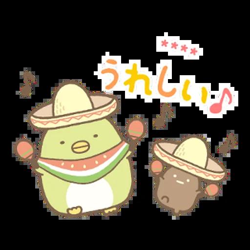 角落生物 日文篇1 - Sticker 5