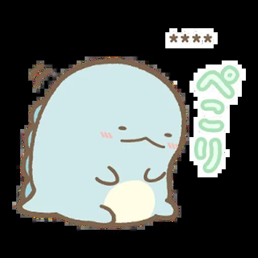 角落生物 日文篇1 - Sticker 6