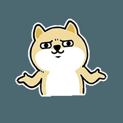 小肥柴12 - Sticker 22