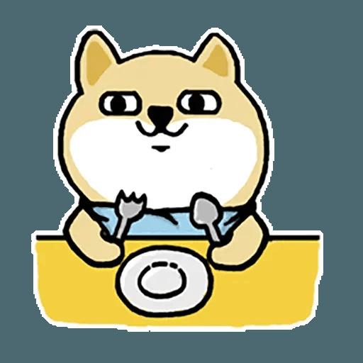 小肥柴12 - Tray Sticker