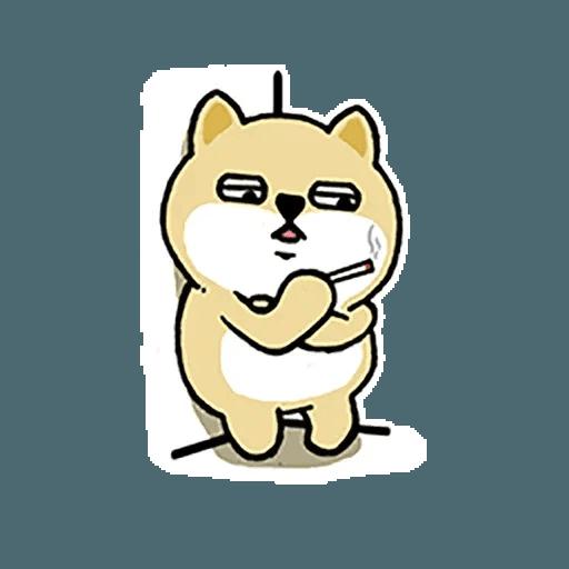 小肥柴12 - Sticker 12