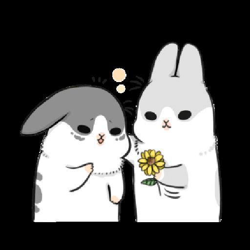ㄇㄚˊ幾兔17 come, study ,禮物 - Sticker 23