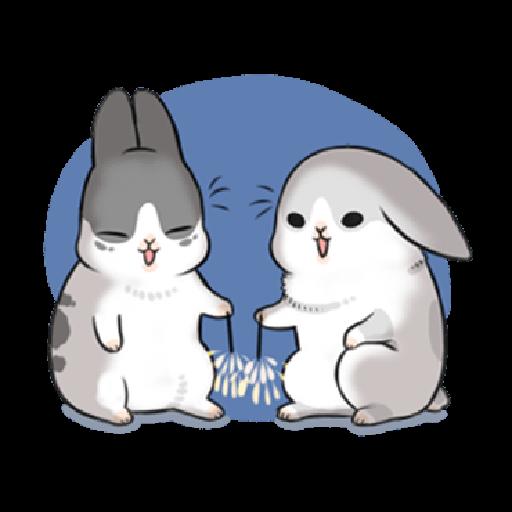 ㄇㄚˊ幾兔17 come, study ,禮物 - Sticker 28