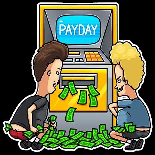 Dinheiro - Sticker 4