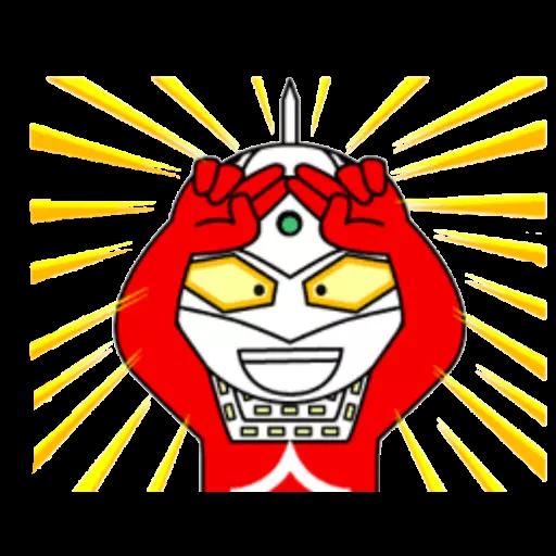 咸蛋超人 - Sticker 13