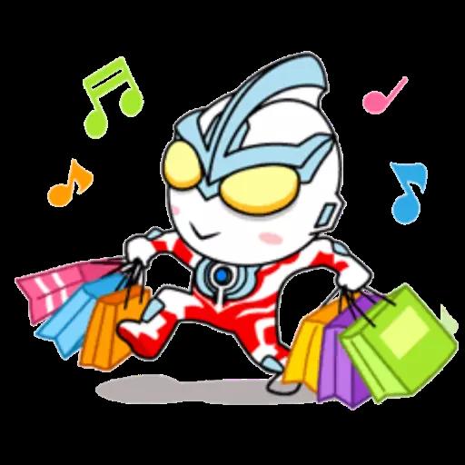 咸蛋超人 - Sticker 22