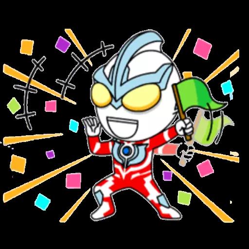 咸蛋超人 - Sticker 8