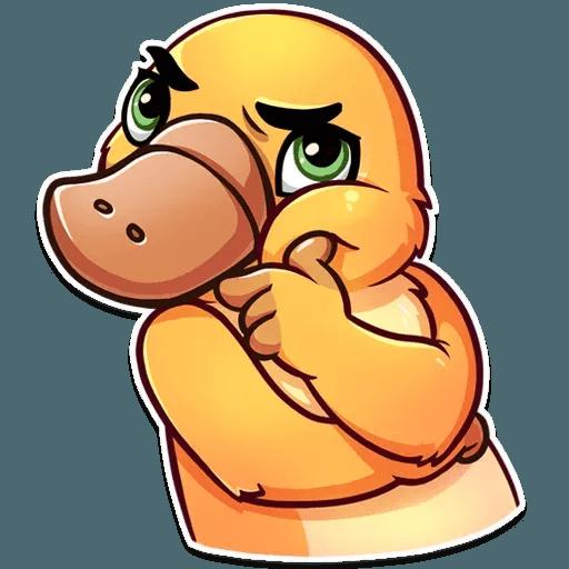 Cooper the Platypus - Sticker 10