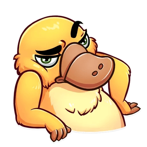 Cooper the Platypus - Sticker 21