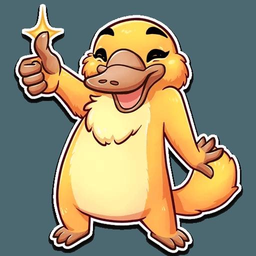 Cooper the Platypus - Sticker 4