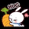 bunny - Tray Sticker
