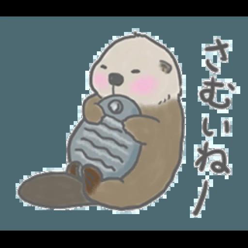 Otter's kawaii sea otter 2 - Sticker 5