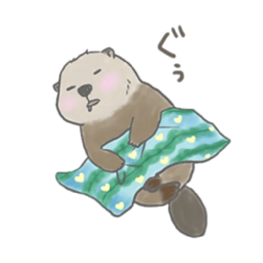 Otter's kawaii sea otter 2 - Sticker 15