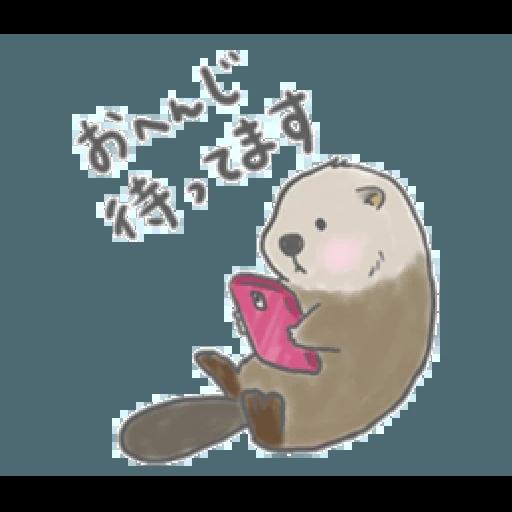 Otter's kawaii sea otter 2 - Sticker 18