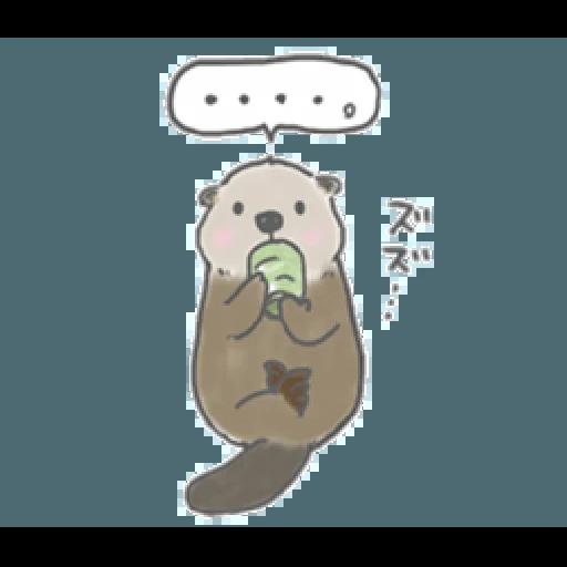 Otter's kawaii sea otter 2 - Sticker 7