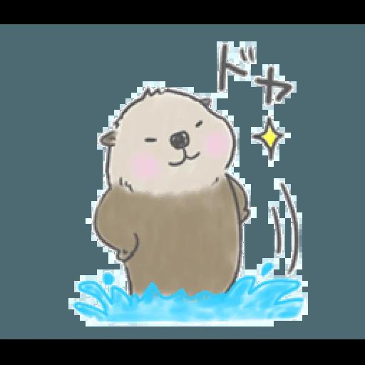 Otter's kawaii sea otter 2 - Sticker 8