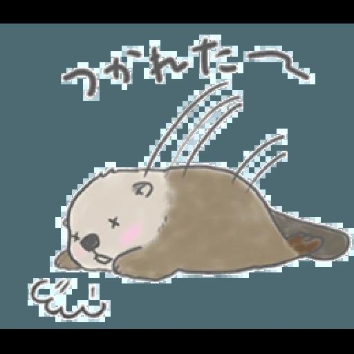 Otter's kawaii sea otter 2 - Sticker 13