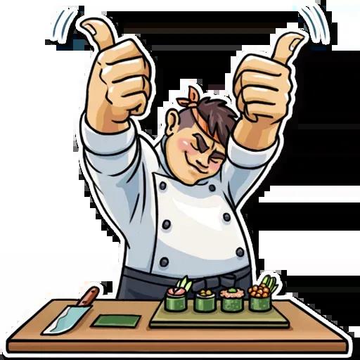 Master Cheef - Sticker 18