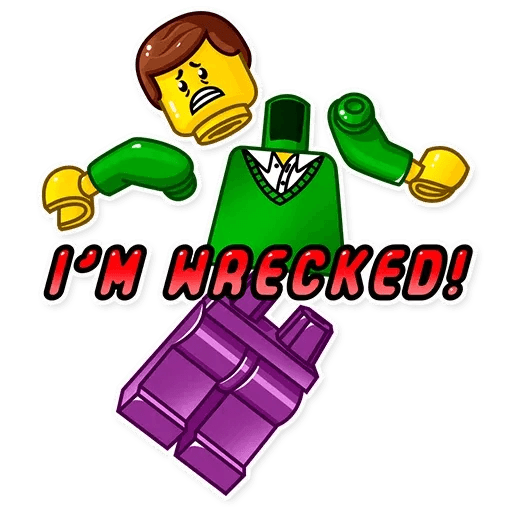 Lego is Awesome! - Sticker 15