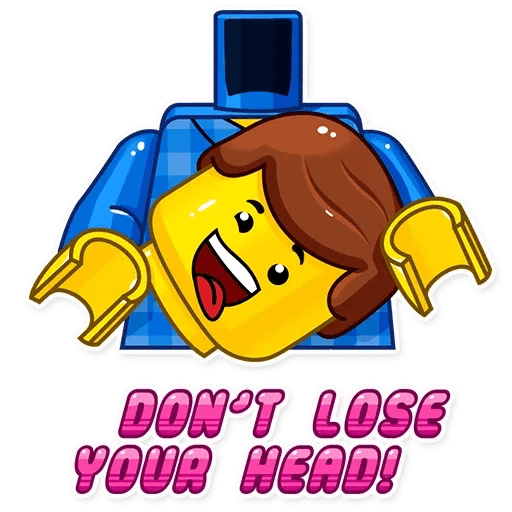 Lego is Awesome! - Sticker 9