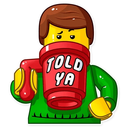 Lego is Awesome! - Sticker 17
