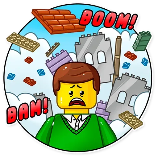 Lego is Awesome! - Sticker 3