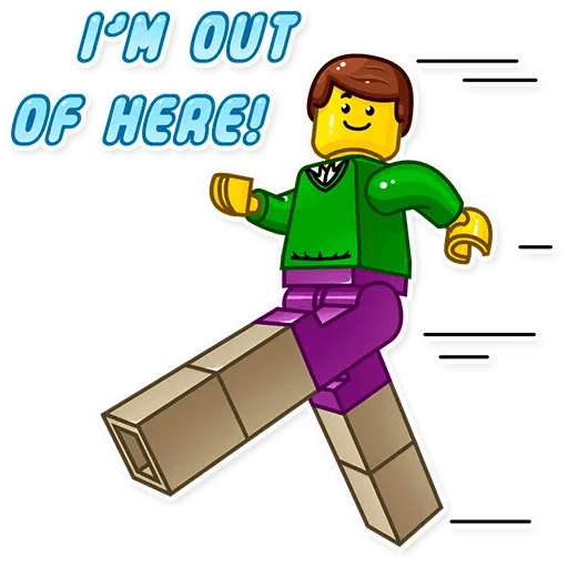 Lego is Awesome! - Sticker 16
