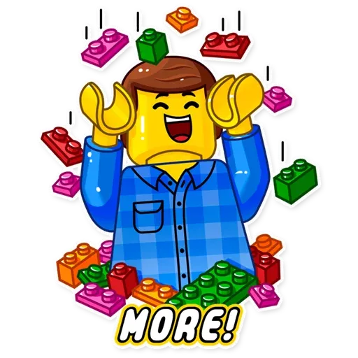 Lego is Awesome! - Sticker 23