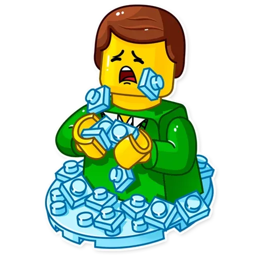 Lego is Awesome! - Sticker 24