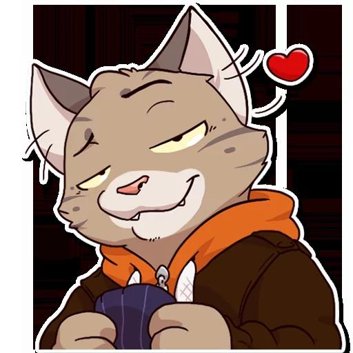 Jack Cat - Sticker 8