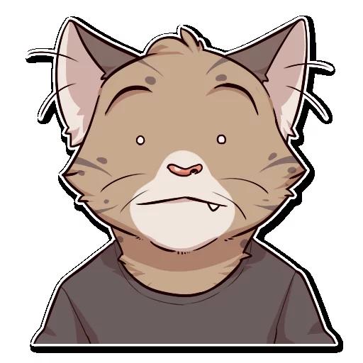 Jack Cat - Sticker 20