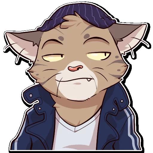 Jack Cat - Sticker 11