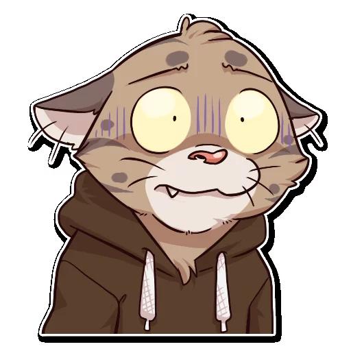 Jack Cat - Sticker 23