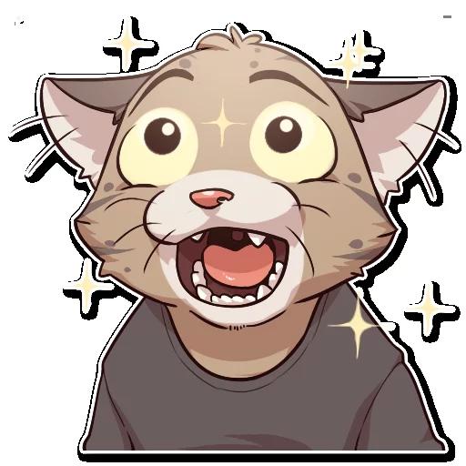 Jack Cat - Sticker 12