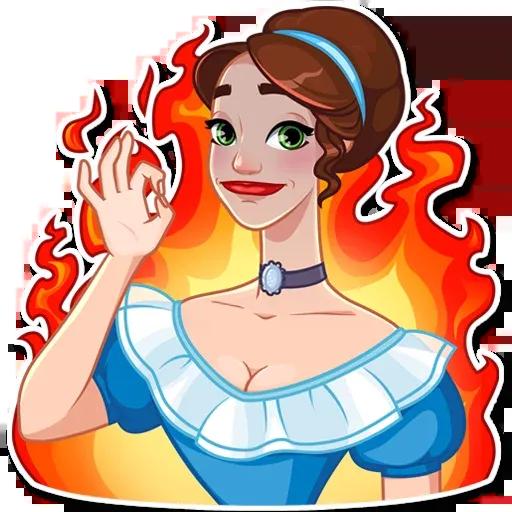 Lady - Sticker 12