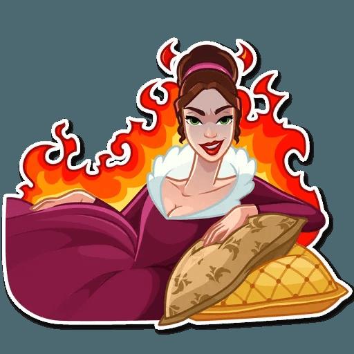 Lady - Sticker 30
