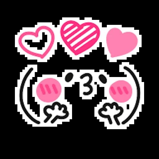 Kawaii - Sticker 21