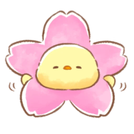 soft and cute chick 09 - Sticker 8