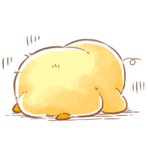 soft and cute chick 09 - Sticker 6