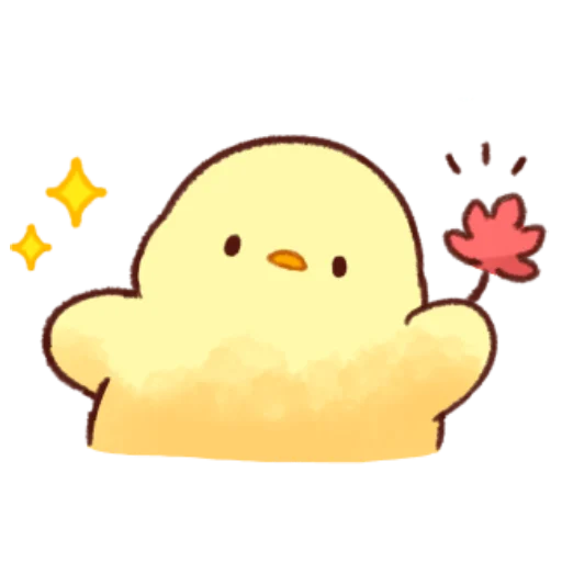 soft and cute chick 09 - Sticker 26