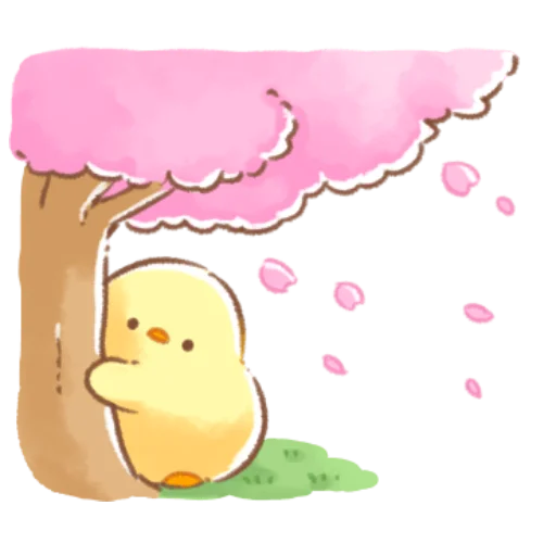 soft and cute chick 09 - Sticker 10