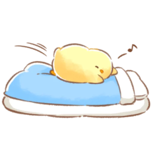 soft and cute chick 09 - Sticker 9